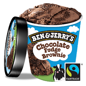 Foto Ben & Jerry's Chocolate Fudge Brownie 465 ml
